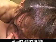 Horny mature japanese av model teaches a hot young asian cheerleader the facts of life video 2
