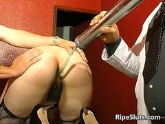 Some mature crazy slut got tortured