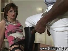 Hot mature equestrian slut