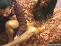 Horny indian slut loves sucking feature