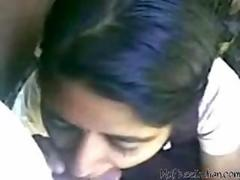 Sweet Indian College Babe Sucking Cock And Eat Cum indian desi indian cumshots arab