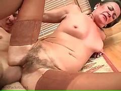 Good grannie fuck she never experienced before like this one