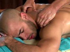 Massage for pornstar Austin Wilde