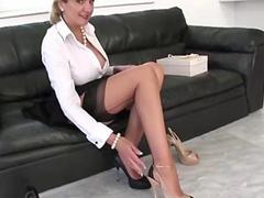Solo stockings brit Lady Sonia