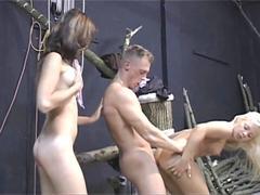 Most wanted threesome with two hotties