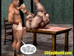 Sadomaso Gay Fisting Story 3D Cartoon Animated Comics Toon Hentai