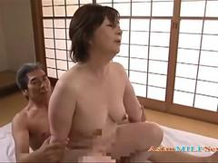 Chubby Asian woman gets fucked by a horny guy