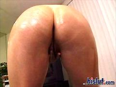 Alicia ass got it deep while balls spanking her butt