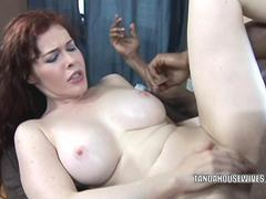Busty wife Mae Victoria takes some dick