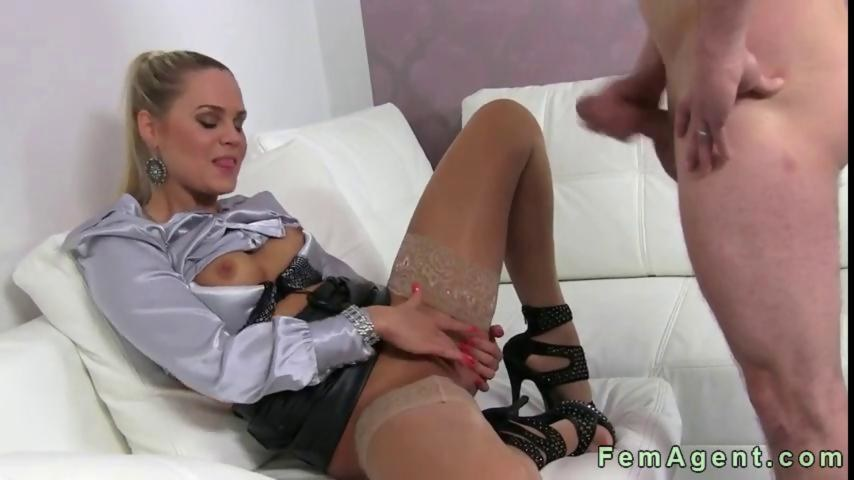 Two Guys One Girl Blowjob