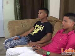 Latin cock-suckers and ass bangers at home