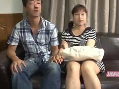Asian lass has a massage and loves the session