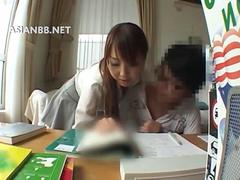 Asian tutor wants to seduce her student