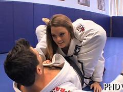 of course that sexy judo leads to sex