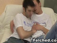 Gay Couple Felching and Barebacking