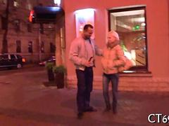 hot hooker gives her pussy out with a discount