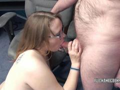 Chubby MILF Alexsis Sweet takes some dick in her ass