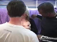 Black guy gets seconds after creampie
