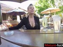she gets about 7 creamers then drinks the creampie martini