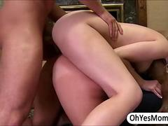 MILF Karen grabs Molly boyfriends dick