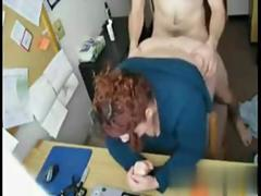 Milf getting fucked by her son
