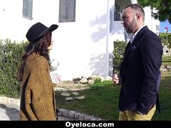 OyeLoca - Sexy Latina Persuades Realtor With Her Pussy