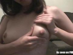 Horny Amateur Teen Fingers Her Wet Pussy.