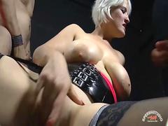 Smoking hot blonde MILF can take dicks like no other