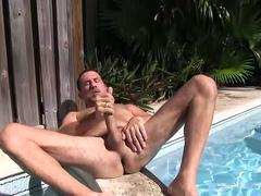 Hairy and Hung Daddy Victor Jacking Off