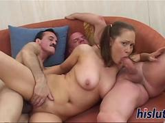 She will do anything for some cum