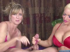 Alexis Diamond and Jodi West Test How Long You Can Last