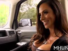 Big tits MILF picked up by Levi Cash