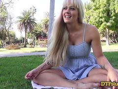 DTFSluts.com - Big Titted Blonde Public Sex Tape