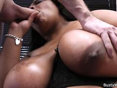 Fat ebony porn goddess gets fucked by her horny partner