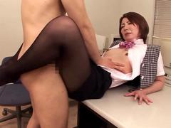 footjob special double leg stockings movie
