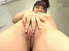A little thick Japanese girl