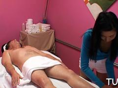 unexpected sex in massage room video video 1