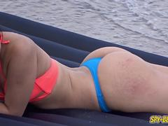 Amateur Beach Sexy Thong Bikini Teen - Voyeur Amateur Video