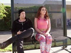 WANKZ- Ginger Savannah Fox Loves Public Sex