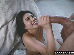 asian fucked by big cock big red head porn