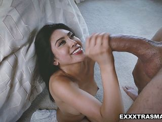 ExxxtraSmall - Hot Asian Spinner Fucked By Big Cock