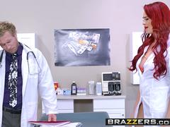 Brazzers - Doctor Adventures - When A Doctor Needs Help scene starring Skyla Novea and Michael Vegas