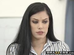 Brazzers - Hot And Mean - Lick A Boss scene starring Bobbi Dylan and Diamond Foxxx