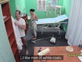 Mindblowing group sex in hospital