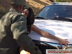Police officer licks pussy xxx Latina Babe Fucked By the Law