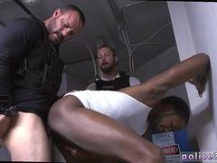 Straight homeless bearded guy blowjob gay Purse thief becomes culo meat
