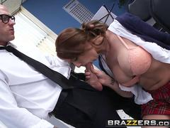 Brazzers - Big Tits at School - Madison Fox Johnny Sins - Mr. Hollands Owed Puss