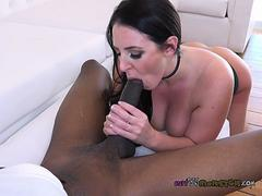 Chesty Slut Angela White Enjoys Huge Cock Of Driver
