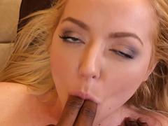 Teen Iris Rose loves big black cock
