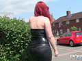Thick Redhead Teen Pissing In Public